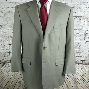 Canali Two Button Sport Coat / Jacket Size 42R